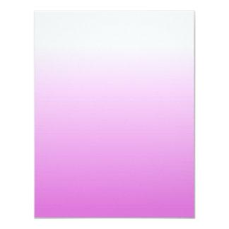 Customizable Orchid Ombre 4.25x5.5 Paper Invitation Card