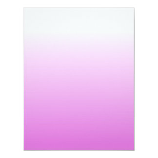 Customizable Orchid Ombre Card