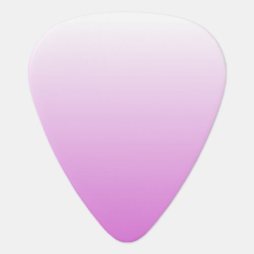 Customizable Orchid Ombre Guitar Pick