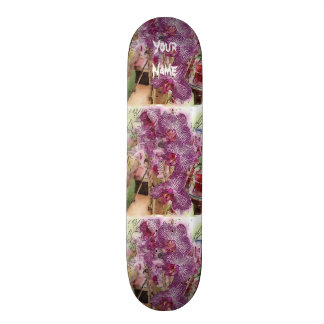 Customizable Orchid Skateboard! Skateboard Deck