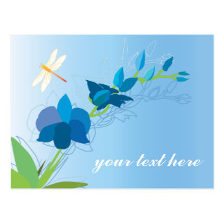 Customizable: Orchids Postcard