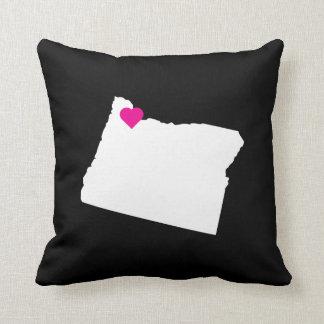 Customizable Oregon State Love Reversible Pillow
