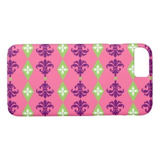 Customizable Ornamental Stripes iPhone 8/7 Case
