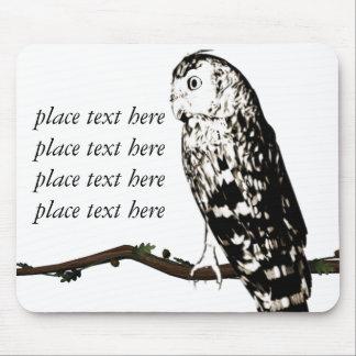 customizable owls mousepad