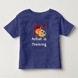 Customizable Painter Print Toddler T-Shirt