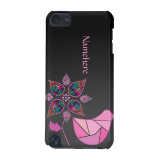 Customizable: Paisley birdie iPod Touch 5G Cover