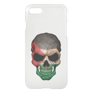 Customizable Palestinian Flag Skull iPhone 7 Case