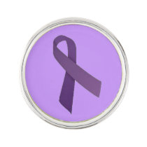 Customizable Pancreatic Cancer Lapel Pin