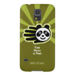 Hand shaped Customizable Panda Bear Hand Case For Galaxy S5