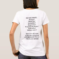 Customizable PARAthyroid Disease Awareness Shirt