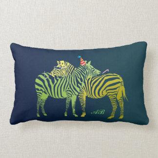 Customizable: Party animals Lumbar Pillow