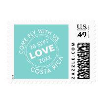 Customizable Passport Stamp Destination Wedding