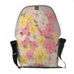 Customizable Pastel Carnations Rickshaw Courier Bag