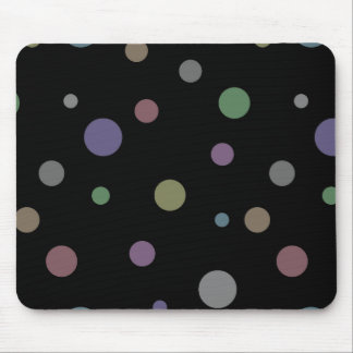 Customizable Pastel Polka Dots Gift Template Mouse Pad