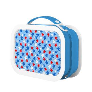 Customizable Patriotic Stars Yubo Lunchbox