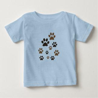 customizable paws baby T-shirt