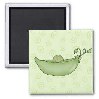 Customizable Pea in a Pod magnet