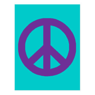 Customizable Peace Sign Postcards