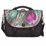 Customizable: Peacock feathers Bag For Laptop