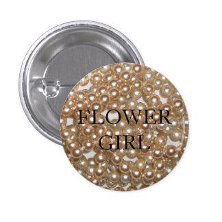 Customizable Pearls Pinback Button