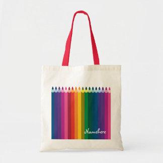 Customizable: Pencil stripe Bag