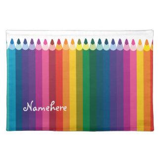 Customizable: Pencil stripe Place Mat