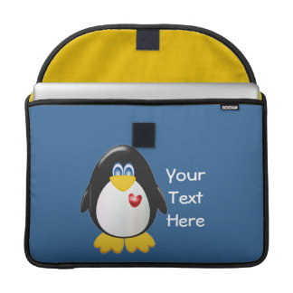 Customizable Penguin Sleeve For MacBook Pro