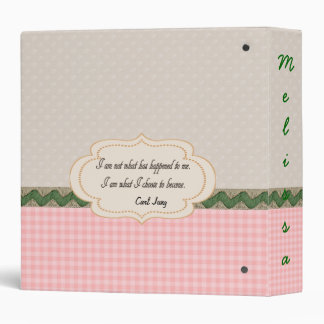 Customizable Personal Journal / Diary Binder