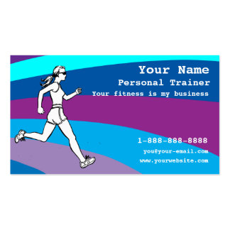 Customizable Personal Trainer Business Card Templates