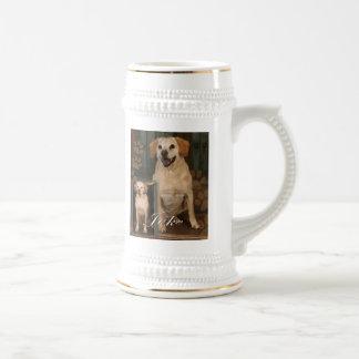 Customizable Pet Beer Mugs