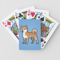 Customizable Pet Bicycle Playing Cards