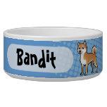 Customizable Pet Bowl at Zazzle