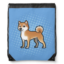 Customizable Pet Drawstring Bag