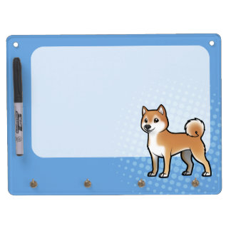 Customizable Pet Dry Erase Board With Keychain Holder