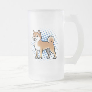 Customizable Pet Frosted Glass Beer Mug