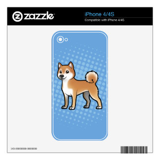 Customizable Pet iPhone 4 Skin