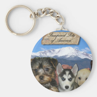 Customizable Pet Keychain