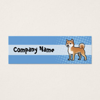 Customizable Pet Mini Business Card