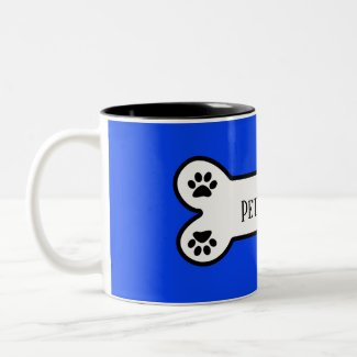 Customizable Pet Name Dog Mug