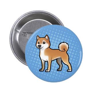 Customizable Pet Pinback Button