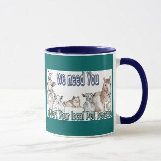Customizable Pet Rescue Mugs
