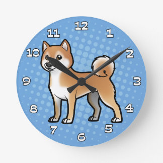 Customizable Pet Round Clock