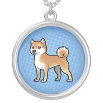 Customizable Pet Silver Plated Necklace