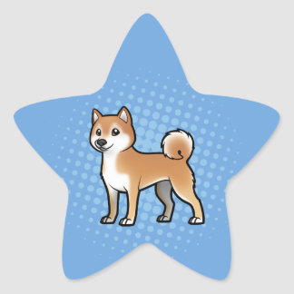 Customizable Pet Star Sticker