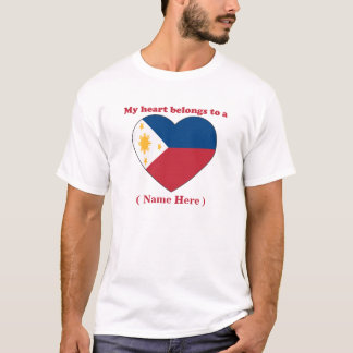 Customizable Philippines T-shirt