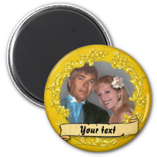 (Customizable) Photo 2 Inch Round Magnet