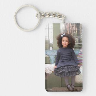 customizable photo acrylic keychain