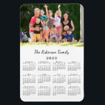 "Customizable Photo and Name 2020 Calendar Magnet<br><div class=""desc"">Personalize a 2020 calendar magnet with the people you love. Replace the sample photo and name with your own in the sidebar. The custom text is in a modern black script font. Below it is a small black 2020 calendar on a white background. Makes a great custom stocking stuffer. Calendar...</div>"