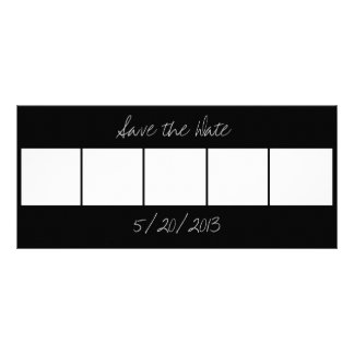 Customizable Photo Booth Save the Date Cards