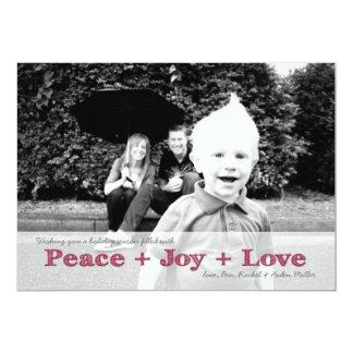 Customizable Photo Card - Christmas or Holidays